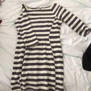 Gap Business casual striped dress